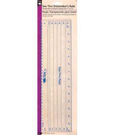 Dritz® See-Thru Ruler 4''x15''
