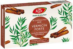 Vermicin Forte (40 capsule moi) Fares Melaleuca, Capsule, Health, Food, Biochemistry, Health Care, Essen, Meals, Yemek