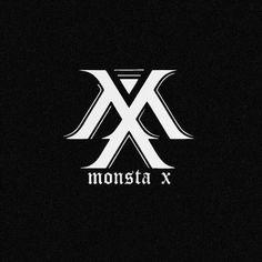 MONSTA X logo Hyungwon, Kihyun, Monsta X Jooheon, Shownu, Football Senior Pictures, Kpop Logos, Japon Tokyo, Korean Pop Group, Starship Entertainment