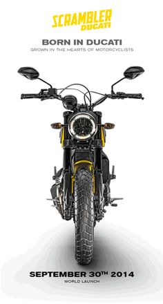 Ducati announces that the first official photo of the upcoming Scrambler will be unveiled using the bike's dedicated Tumblr page and www.scramblerducati.com. However this appears to be the last and final stage of the long teasing campaign put together by Ducati ahead of the official launch. That is, because the photo, which is by the way, expected to be uploaded in a couple of hours or so, will be about all Ducati reveals for now.