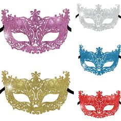 Chic Women s Mask Masquerade Costume Party Prom Carnival Fancy Ball  Halloween Mt  fashion  clothing 1817f6d4abc0