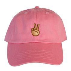 Peace hand Emoji Hat