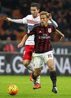 ACミランの日本代表FW本田圭佑は、13日のイタリア杯準々決勝カルピ戦に先発フル出場。 - Yahoo!ニュース(Soccer Magazine ZONE web)