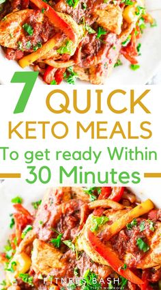 Quick keto meals for families and simple and easy keto dinner recipes. You can check the quick keto meals for a keto lunch. Never be out of ketosis.