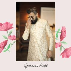 Why should brides have all the fun!? Are you a groom to be & looking  for the perfect wedding day outfit? Well, we have got you covered !  Attend RAA wedding fashion Rental showcase and check out our wedding collection.  To register, click the link in bio.  #raaweddingshow #rentanattire #indianwedding #weddings #weddingwear #groom #groomtobe