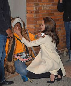 Angelina Jolie is seriously an angel on earth. A fan had a panic attack about meeting the star. Jolie stopped everything to comfort her. This is a must read article. It tugs at your heart