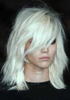 Show white hair