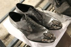 Mr Hare shoes with metal detail.