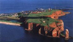 The island Helgoland (in East Friesland)