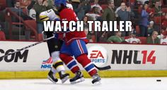 cool NHL 14 Collision Physics Gameplay Trailer Check more at http://99trailer.de/1811_nhl-14-collision-physics-gameplay-trailer/