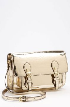Steven By Steve Madden Crossbody Bag in Gold - Lyst