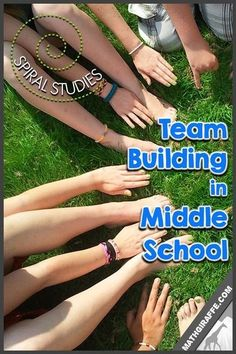downloadable lesson for Integrated Team Building in Middle School that goes beyond getting to know you activities and instead sets up standards for team work in each class for the whole year!