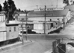 """On September 23, 1912, """"Keystone Comedy"""" by Mack Sennett was released. Here's the studio where it and many Keystone Kops and Charlie Chaplin movies were filmed."""