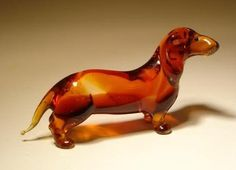 Blown Glass Art Animal Figurine Dog DACHSHUND Glass Lilies, Ltd,http://www.amazon.com/dp/B0069GC9XK/ref=cm_sw_r_pi_dp_FwdBsb14GRE4T0JS