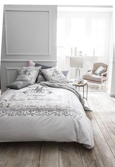 """Parure de lit """"Maison  du bonheur"""" (dim. 220x240cm) - TODAY"""