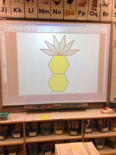 Forever in First: Subitizing Geometry Style, You show a composite shape to the kiddos for a few seconds, then remove the picture to see what they can create from memory.