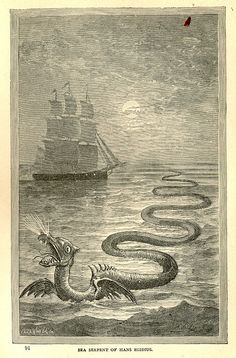Sea-serpent of Hans Egidius by stevelewalready, via Flickr