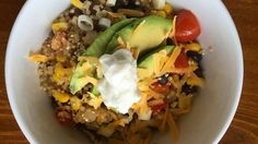 One-Pot Mexican Quinoa Recipe