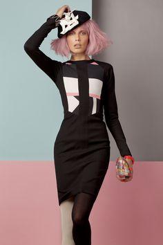 Pink hair, bangs, wispy, artistic http://au.cloudninehair.com/