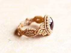 Macrame Rings, Macrame Necklace, Macrame Jewelry, Beaded Rings, Macrame Bracelets, Bohemian Jewelry, Macrame Design, Macrame Art, Micro Macrame