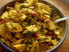 come-se: Dilênia 3: Curry de jaca verde com dilênia