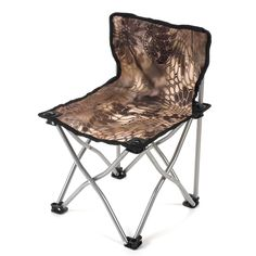 Kid's Pint Sized Koda Adventure Gear Quick-Camp Chair #Kryptek #kidscamo #kidscamping #kidschair