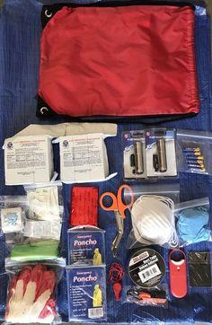 72 Hour Emergency Kit / 72 Hour Survival Kit Preparedness First Aid Safety   eBay