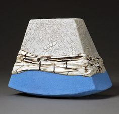 Liz Howe Soft Light Blue Ground, Ceramic, x x Contemporary Artwork, Contemporary Ceramics, Contemporary Artists, Ceramic Clay, Ceramic Pottery, Liz And Liz, Light Blue, Soft Light, Ceramic Artists