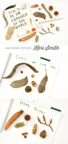 How to be an explorer of the world... Author Focus: Keri Smith