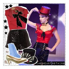 """""""Dress Like Glee: Reworked Rocky Horror Glee Show#1"""" by broadway-fairy ❤ liked on Polyvore"""