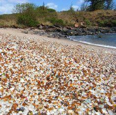 Glass Beach Kauai, Hawaii