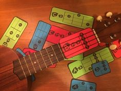 Are you learning UKULELE, KEYBOARD/PIANO or ELECTRIC GUITAR in your classroom? Struggling to teach students they chords using standard chord charts? Sick of messy stickers and methods that just don't...