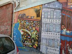 Graffiti in Almirante Montt, Valparaíso, Chile, via Flickr.