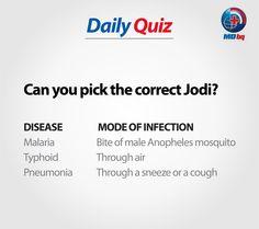 Participate to Win! Health Quiz