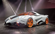 Lamborghini Egoista  - Pant pant...seriously??  No fair!!  (who said life was fair?)