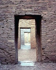 Chaco Canyon - Doorways to the Past