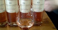 This week's #DrinkoftheWeek is a glass of the Tinhorn Creek Vineyards Oldfield Series 2Bench Rosé, one of the wines included in the Tinhorn Creen Wine Tasting with a Social Twist blind tasting. The rosé is a dry wine, light salmon pink in colour with notes of strawberry and a hint of black pepper. Served perfectly on its own or with light summer dishes!