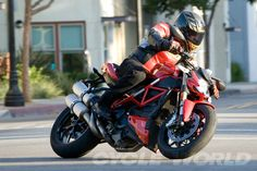 Ducati Streetfighter 848- Middleweight Motorcycles – Cycle World