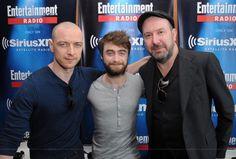 James McAvoy, Daniel Radcliffe, Paul McGuigan