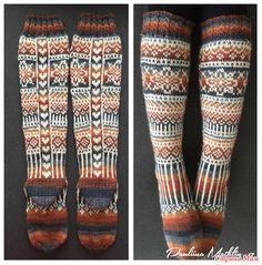 Свяжем вместе носочки №2  Предлагаю еще поиграть в придумывании носочков.  В этот раз хочу предложить носочки, которые вяжутся из мелких мотивов.