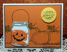 Stampin' Up! Jar of Haunts, Jar of Love and Work of Art stamp sets, Everyday…