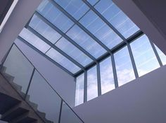 Buildings that generate free clean electricity thanks to our photovoltaic transparent glass http://www.onyxsolar.com/
