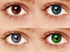 why do eyes change color with emotions, age, season