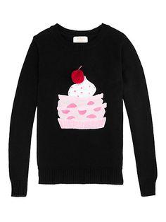 girls' pastry sweater - kate spade new york