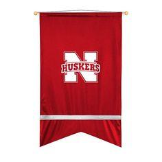 Nebraska Cornhuskers Sidelines Ribbon Style Wall Flag
