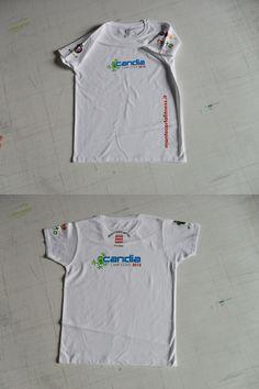 Personalizzazione t-shirt per Campo Estivo tramite stampe in quadricromia su materiale termosaldabile.  www.guidoborgonovo.it