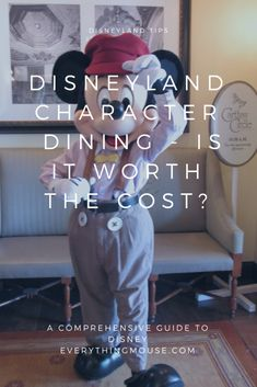 What Disneyland Character Dining options are there? If you want to go for a Disneyland Character Breakfast which is the best option/ Is any Disneyland Character Dining really worth the cost? Find out the answers in our comprehensive guide. Disneyland Character Dining, Disneyland Dining, Disneyland Restaurants, Disneyland Vacation, Disneyland California, Walt Disney World Vacations, Disney Dining, Disney Trips, Disney Land