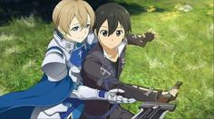 Sword art online Hollow Realization Eugeo and Kirito
