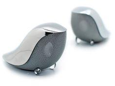 "Tiny bird wireless speakers ""Wrenz Birdies"""