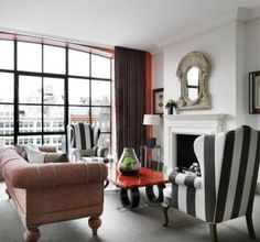 crosby-street hotel - new york city - hip hotels - mylusciouslife.com | Inside the world of Firmdale Hotel group owners, Tim and Kit Kemp
